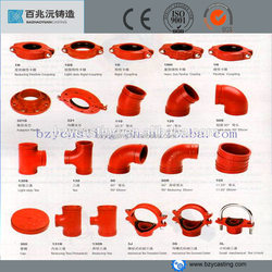 fire hydrant ductile iron pipe fittings for fire system