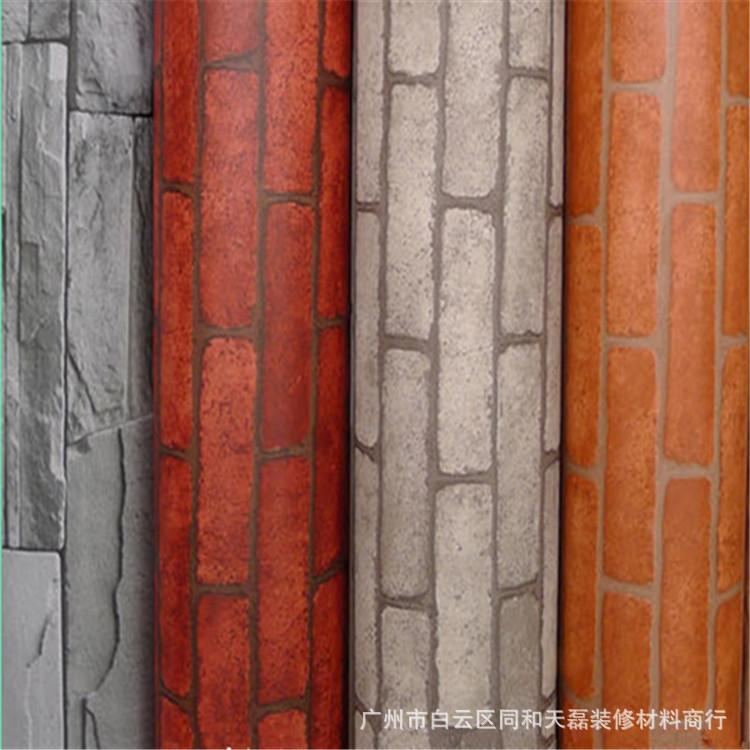 De ladrillo blanco dise o de papel pintado para la for Papel pared diseno
