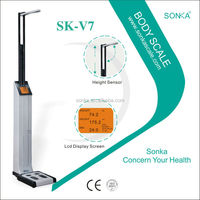 Weighing Sensor Medical /Ultratronical Scale Heigher/ Body Kiosk SK-V7-001Vending Machine On Sales