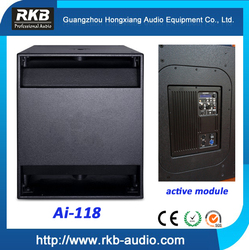 Ai-118 600W Active Subwoofer Speakers/Single 18 Inch Subwoofer