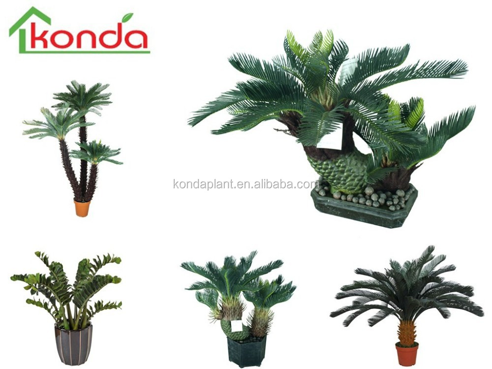 Artificial cycas revoluta fake plant and trees different for Different types of plants and trees