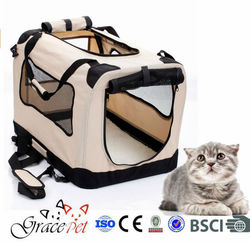 Best Pet Products In The World Portable Fabric Dog Carrier Pet Cage Dog Bag