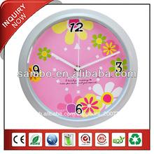 el modernismo imágenes de arte reloj de pared para la decoración reloj de pared blanca de madera