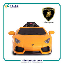 Lamborghini Battery Operated Ride on Car Toy Remote Control Electric Kids Ride On Car