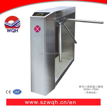 Visitor management system RFID access control tripod turnstile with counter security tripod gates