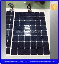 Sunpower cell semi-flexible solar panels prices 150W