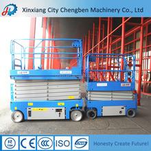 Fábrica fornecer diretamente pequeno hidráulico elevador de tesoura plataforma 300-1000kgs para venda