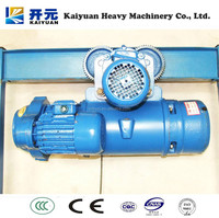 Kaiyuan CD/MC/HHBB Wire Rope Electric Block Lifting Equipment or Hoisting Machine for Hot Sale