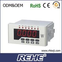 2014 newest Advertising Panels Autometer Multi Digital Multifunction Multimeter Vot Watt Active Power Panels Meter Digital Multi