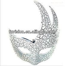 Hot Sale PVC Men Plain White Color Half Face Mask