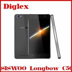 Original SISWOO C50 Android 5.1 MTK6735 Quad Core 1GB+8GB GPS Lte 3000mah 5.0'' IPS Multilanguage Mobile Phone