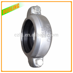 """Duoling 8"""" DN200 219mm galvanized pipe joints for Grooved Fittings with highest Standard On Sale"""