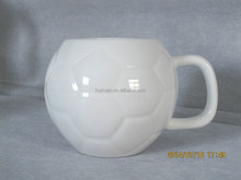 Promotional gifts ball ceramic cup with creative new design