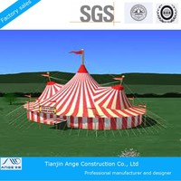 Customized PVC coated waterproof circus tent sale/fireproof circus tent for shelter