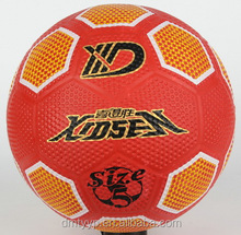 Xidsen,Qianxi Rubber Golf Football size 5 & 4 & 3,3D design printing