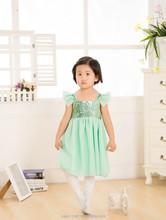 2015 new style girls frocks dresses, sparkle princess dress, children frocks designs party