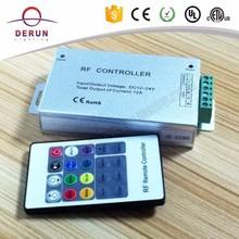 RF Wireless Control 20Key RGB led controller DC12-24A 12A RF remote control for RGBW led strip