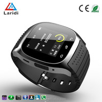 2015 Hot sell ione round smart watch M26 smartwatch wristwatch for young people use android and ios phone