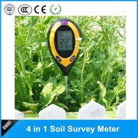 4 in 1 detector for soil to test moisture/pH/Temperature/sunlight