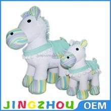 2015 China Custom plush toy horse stuffed plush toy zebra stuffed animal toys