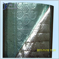 Silver Antiglare Foil Bubble Thermal Insulation
