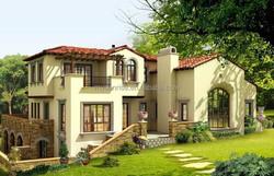 light steel villa prefabricated villa machinery house home plans prefab house