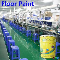 Cement floor low cost electronics industrial frizz-free floor coating