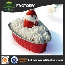 food storage disposable aluminum cooking tray for food package