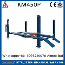 KM450P hydraulic car lift for service station at low cost in 2015