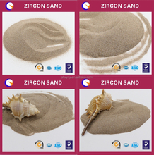 High refractoriness zircon sand easy to pieces