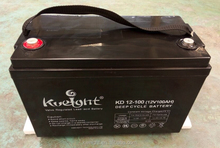 High Quality Solar Gel battery Deep Cycle 12v 100ah For UPS