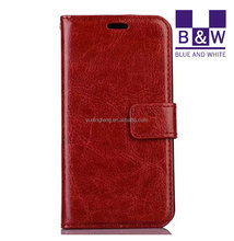For Nokia Lumia 630 Print Leather Case With Card Holder And Phone Frame