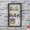 2015 China fabirc decorate White romance love bike picture photo frame
