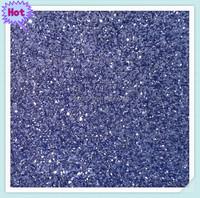 2014 Hot sell europe purple glitter fabric