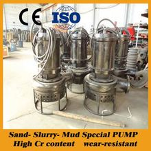 high pressure river silt pump
