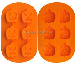 Premium Silicone halloween pumpkin cake candy jelly chocolate cookie Mold baking pan