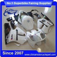 FFKKA015 Motorcycle Fairing Kit For ZX12R ZX 12R 2000 2001 White Monster With Tank Cover