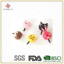Custom Make Rubber Animal Anti Dust Plug For All Mobile Phone & Tablet