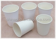 Rainbow Different size plain white paper coffee cups