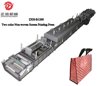 ZXH-B1200 Two color Non-woven Screen Printing machine