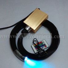 High Quality fiber optic lighting for ceiling with PVC jacketed fiber optic cable