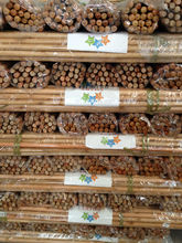 Varnished eucalyptus timber wooden handle rake for--Farming tools
