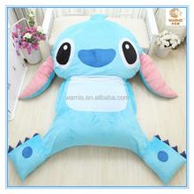 Stitch Comfortable Cartoon Bed Sleeping Bag / Tatami Thicker Mattresses Cartoon Bed