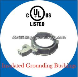 UL listed Insulated Grounding Bushings with lug