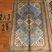 Classical Garden Pattern Hand-made Silk baby rug