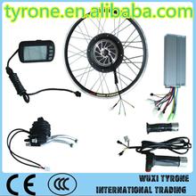 2015 Newest e-bike brushless dc motor 24V 500W for e-bike conversion kit with optional disc brake on sale