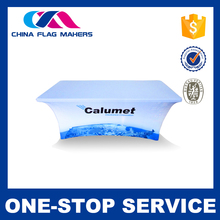 Any costum logo spandex table cover