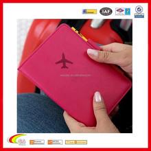 Plain Design Fashion Passport Cover/Holder/Case For Travel