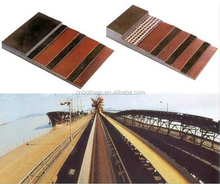Heat-resistant endless rubber conveyor belt, polyester, nylon, cotton canvas belt