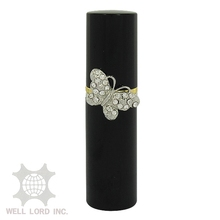 Trendy silvery ring small perfume bottle ornament